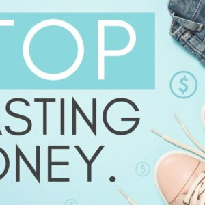 HOW TO STOP SPENDING MONEY 💸 (15 tips to stop impulse shopping + save money with minimalism)