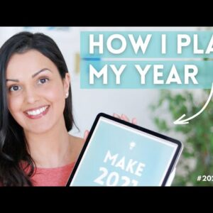 HOW TO PLAN YOUR LIFE IN 2021 (design a life you �� with a goal setting workbook)
