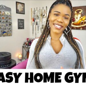 ALL YOU NEED to lose weight at home | Easy Home Gym