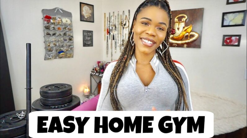 ALL YOU NEED to lose weight at home   Easy Home Gym