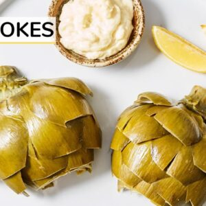 ARTICHOKE 101 | how to cook and eat artichokes