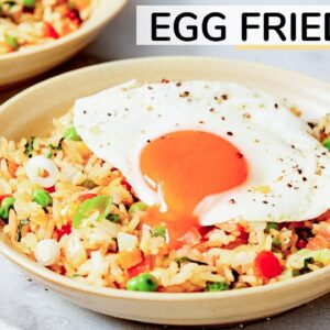 EASY EGG FRIED RICE | Healthy Recipe with Happy Egg