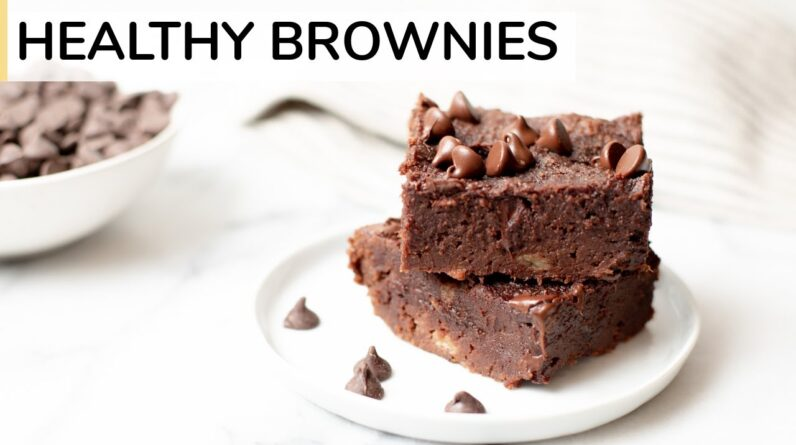 HEALTHY BROWNIE RECIPE   gluten-free brownies made with almond flour