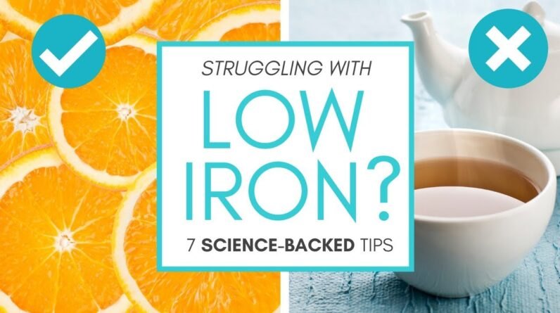 HOW TO IMPROVE LOWIRONLEVELS (7 science-backed tips!)