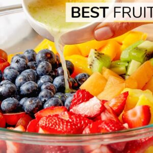 HOW TO MAKE THE BEST FRUIT SALAD | easy recipe
