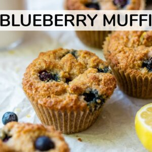 KETO BLUEBERRY MUFFINS | easy, healthy muffin recipe