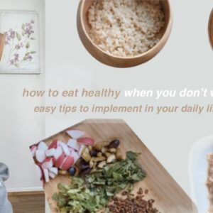 How to Eat Healthy (when all you want is junk food) | Easy tips to change your lifestyle