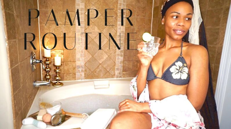 My OVER THE TOP Sunday Night Pamper Routine | Relaxing Self-Care