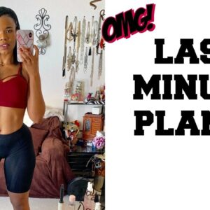 Short Notice SLIM DOWN | How To Lose Weight Fast