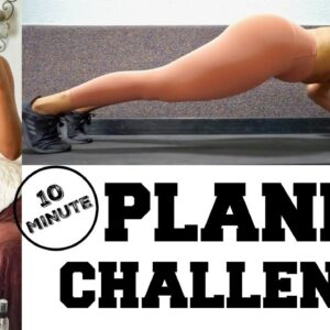 SIMPLE Plank Workout for a Tiny Waist & BEAUTIFUL Stomach