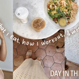What I EAT & How I WORKOUT | Day in the life