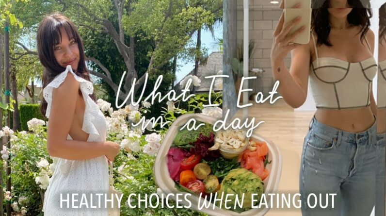 WHAT I EAT IN A DAY (while eating out) | my go-to meals