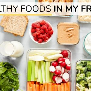 WHAT'S IN MY FRIDGE 2020 | 10 healthy staples for easy meals + snacks