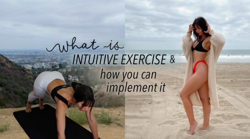HIKE WITH ME | Choosing the right workout for you & what is intuitive exercise