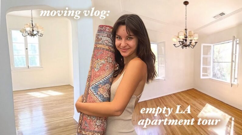 MOVING VLOG: empty tour of my dream apartment in LA, furniture shopping, & why i'm moving