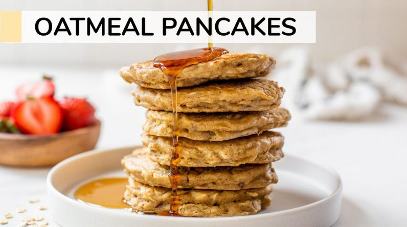 OATMEAL PANCAKES | healthy recipe without banana
