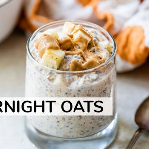 OVERNIGHT OATS RECIPE | for weight loss